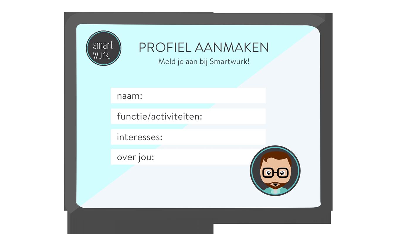 Maak een gratis profiel aan en laat zien wie je bent: https://smartwurk.nl/@Esther Wijdeveld